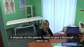 FakeHospital Slender squirting hot...