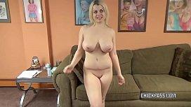 Busty babe Nadia White...