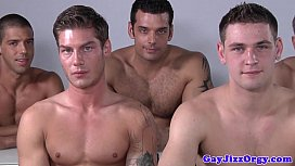 Male model orgy after...
