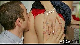 Licking beautys shaved ribald...