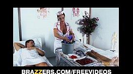 Slutty nurse Diamond Foxx...