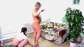 OldNanny Old fat mom...