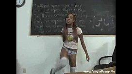 Horny Schoolgirl Fucks Teacher...