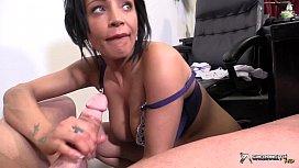 Horny nurse examines patients...