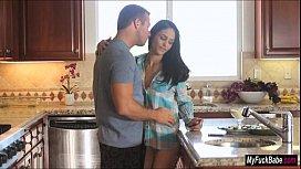 Babe Jasmine Caro feeds...