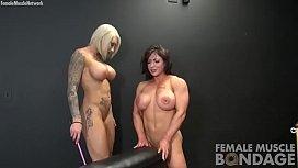Naked Female Bodybuilders Bondage...