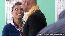 Brazzers - Sexy School girl...