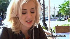 Fucking cute blonde teen...
