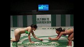 Intense Naked Wrestling Match...