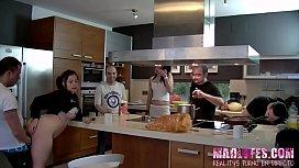 En la cocina Salva...