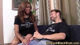 Booty black anal spunk...
