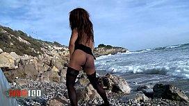 Nirina Campbell skinny black...
