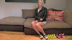 FakeAgentUK British Blonde MILF...