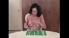 Michele Raven in PERVERTED STORIES 31 - Scene 2 She eats every little drop of cum that falls in the glass like a dog