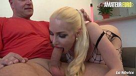 AMATEUR EURO - Busty Blonde Elysee Paradise Enchant Horny Amateur