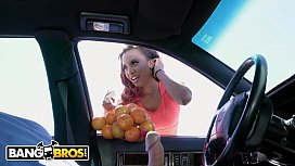 BANGBROS - Demi Sutra'_s Got Them Oranges, Sean Lawless Is Rockin'_ A Banana