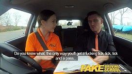 Fake Driving School Backseat...