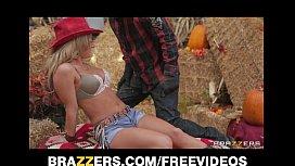 Busty blonde cowgirl Melissa...