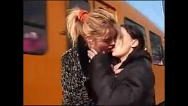 Public lesbian piss swallowing...