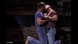 Gay Spit Kiss
