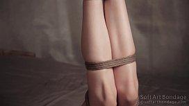 Suspension jute tied legs...