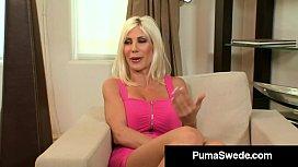 Busty Blonde Bombshell Puma...