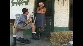 BBW Granny Takes Huge...