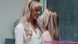 Busty mature teacher bangs with lesbian student after class