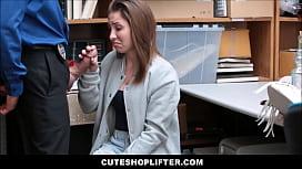Cute Teen Caught Stealing...