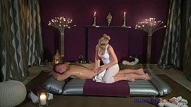 Massage Rooms Flexible blonde...