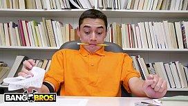 BANGBROS - Juan El Caballo Loco Is Struggling So Latin MILF Ariella Ferrera Tutors Him