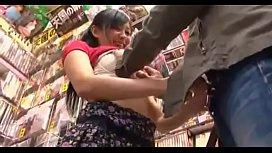 JAV she sells cute books - nana ogura