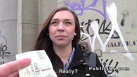Czech amateur flashing and...