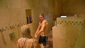 Big BooBs Mom Forced Fuck By son in bathroom