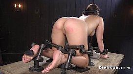 Slave beauty gets feet...