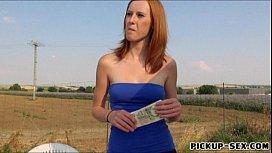 Redhead Linda Sweet banged...
