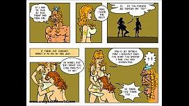 2D Comic: Horny Saga...