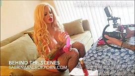 Sabrina Sabrok masturbation videos...