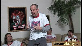 Black pornstar debut bukkake...