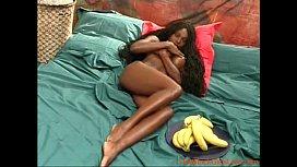 Hot black girl going...