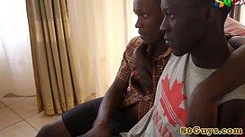African amateur twink couple...