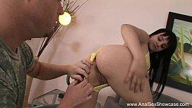 Exotic Brunette Gets Her...