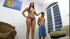 Elizabeth Baldochi 6foot2inch tall...