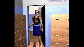 3D Comic: Librarian...
