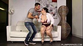Sexy Spanish BBW Pornstar...