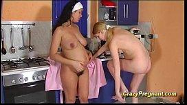 Lesbian pregnant girls pussy...
