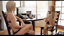 Admirable blonde maid Skylar Green adores hardcore sex