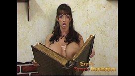 Brunette stunner with massive...