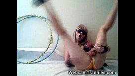 Real Teen Tranny GF...