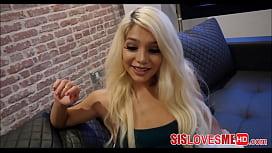 My Hot Blonde Step...